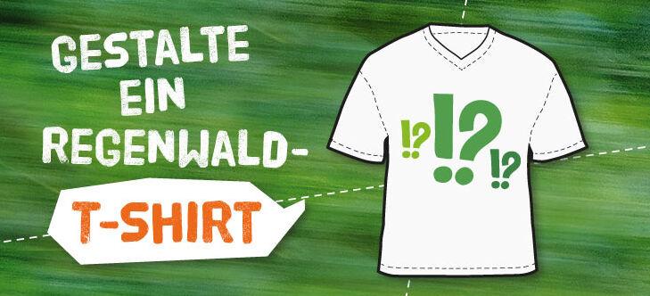 new product 53cf1 26052 T-Shirt-Regenwald-Wettbewerb - Abenteuer Regenwald